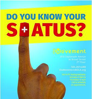 hiv testing status
