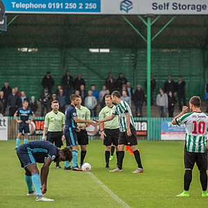 Blyth Spartans v Middlesbrough XI