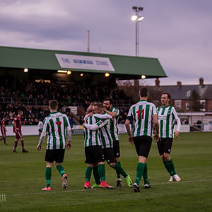 Blyth Spartans v Darlington