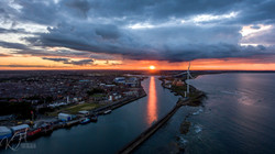 Blyth,UK Sunset