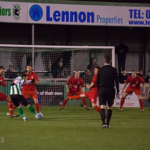 Blyth Spartans v Bedlington Terriers (Northumberland Senior Cup Quarter Final)