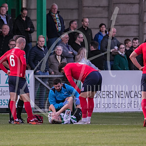 Blyth Spartans v York City (FA Cup)