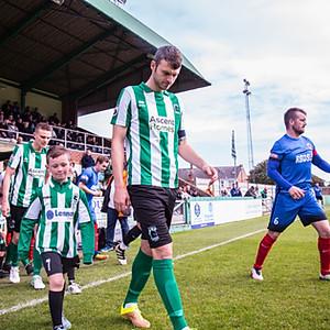 Blyth Spartans V Shaw Lane (FA Cup)