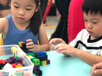 Counting using Unifix Cubes
