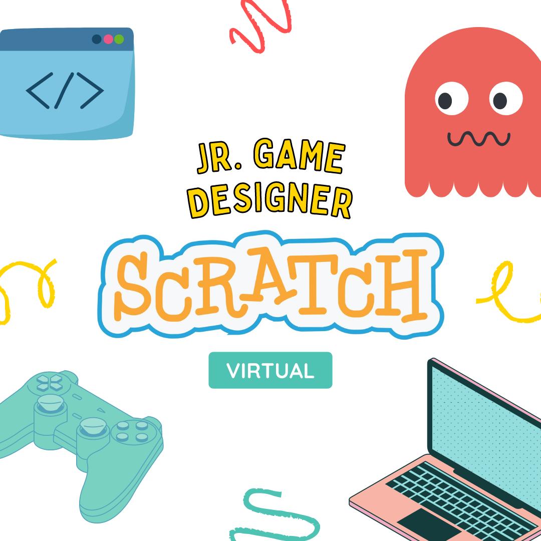 Jr Game Designer with Scratch (11.45am)