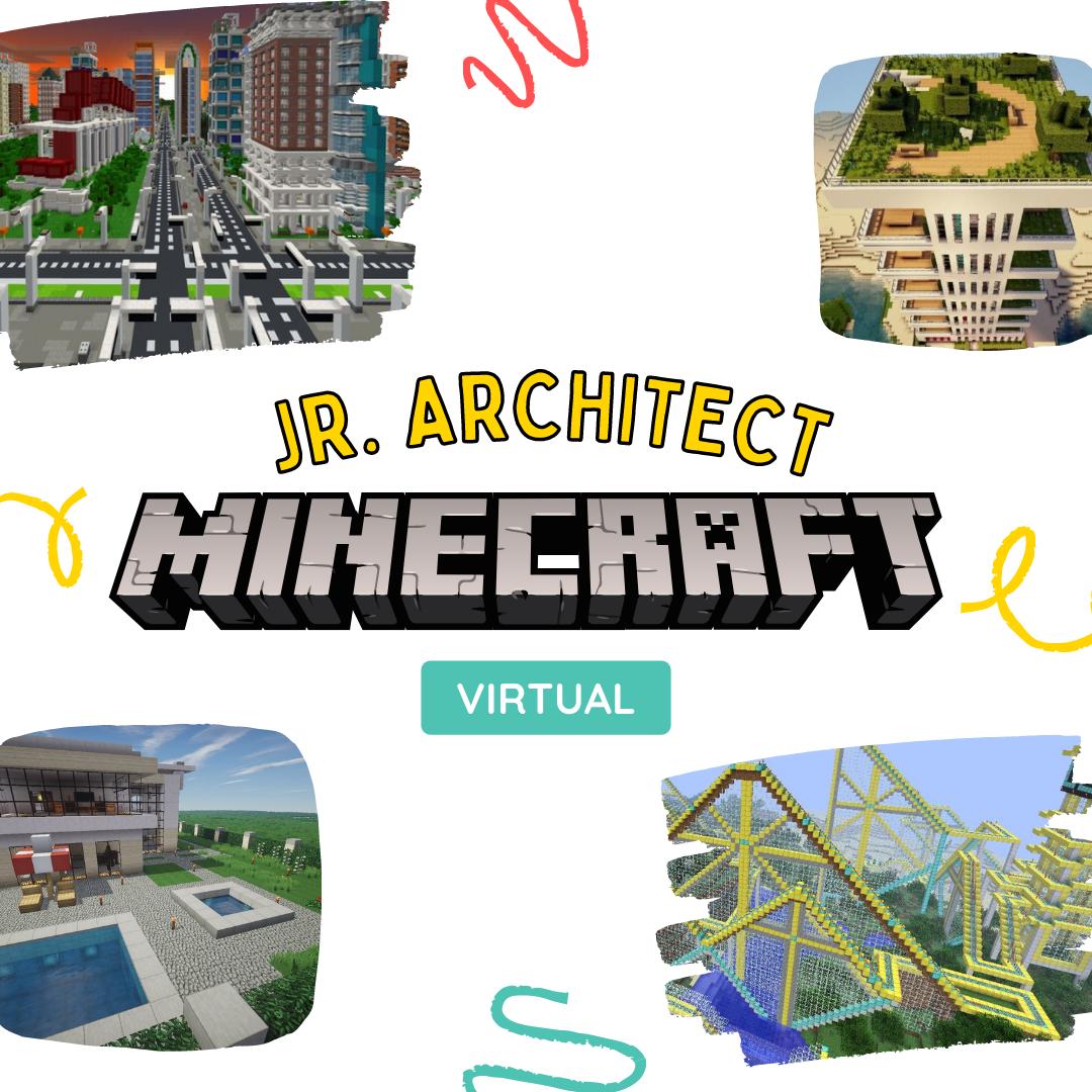 Jr Architect with Minecraft (11.45am)