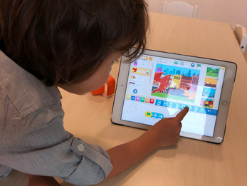 Programming with Scratch Jr.