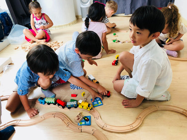 Learning through Play:  Why children can learn and grow when they are having fun!