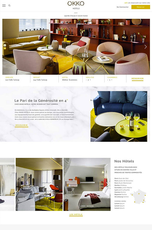 Site Hôtel OKKO