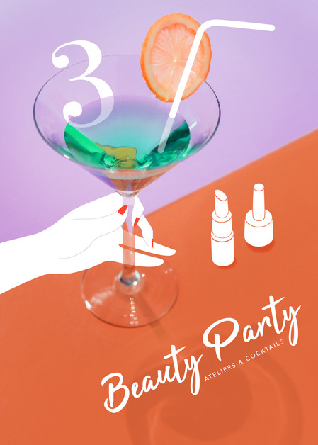 Invitation Bloggeuses • Beauty Party