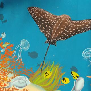 Fresque murale Marineland