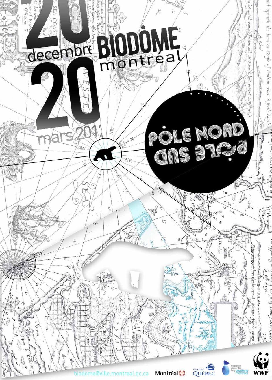 Affiche Biodôme Montréal
