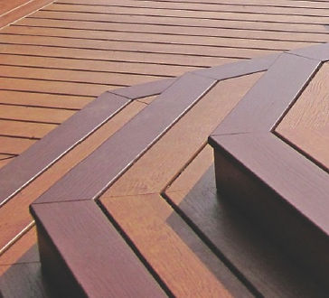 Picture of a PVC Deck