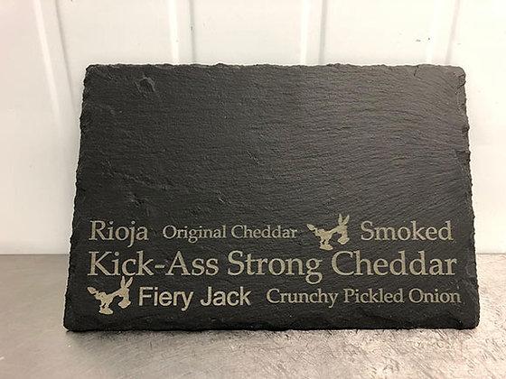 Kick-Ass Slate Cheese Board