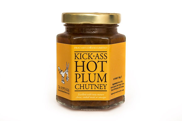 Kick-Ass Hot Plum Chutney