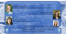 Trainee Tuesday - Dr. Micheal Sunshine; Dr. Peggy Assinck; Courtney Bannerman