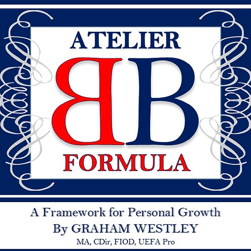 Hard copy of The Atelier Formula book by Graham Westley