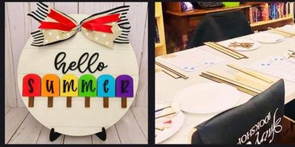 DIY-Craft Class: Hello Summer