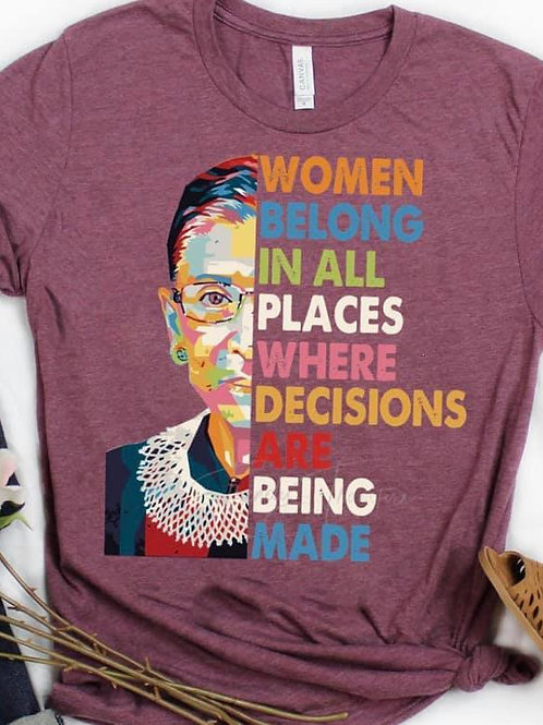 RBG With Quote - Adult Sizes