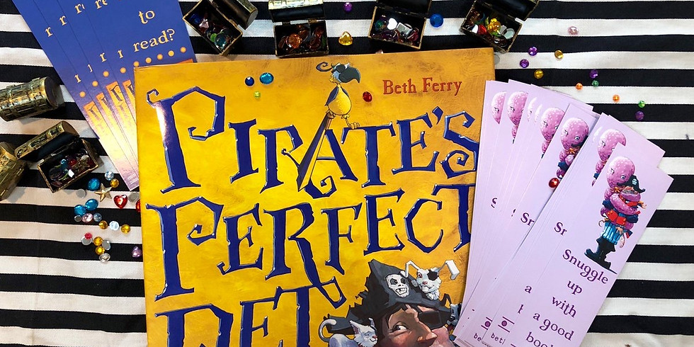 Story Time 9/23 - Pirate's Perfect Pet - reserve time slot please