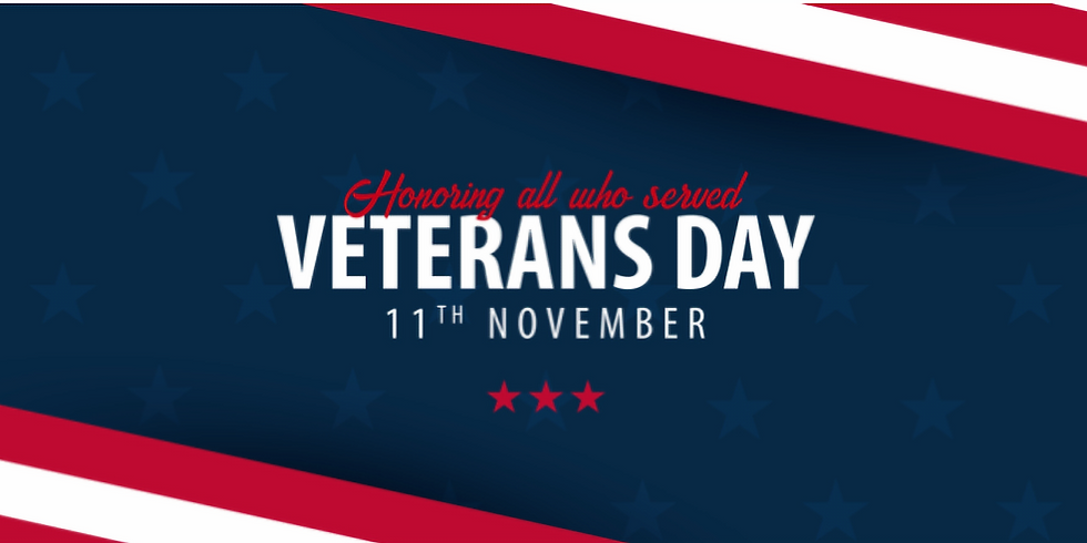 Veterans Day at the Bookstore