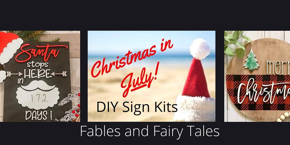 Christmas in July DIY Craft Kit