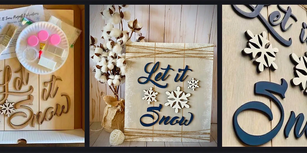 DIY Craft Kits - Let it Snow