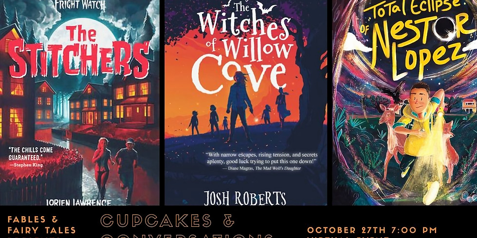 Cupcakes & Conversations Author Event