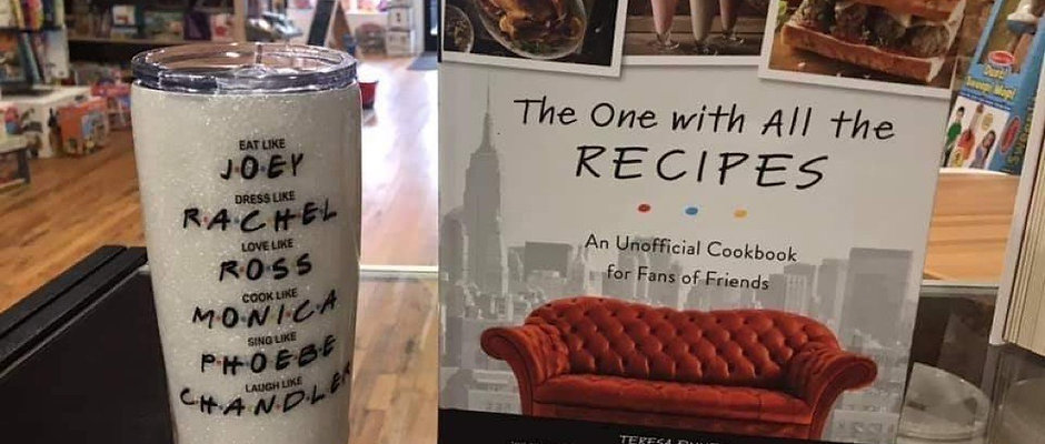The One with All the Recipes & Friends 20oz tumbler