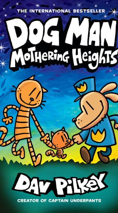 Dog Man Mothering Heights Pre-Order