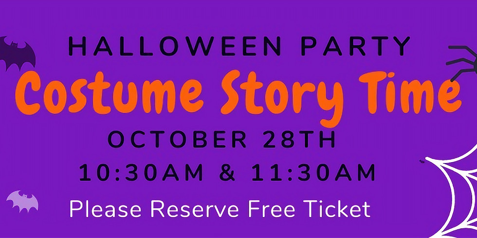 Halloween Party Story Time