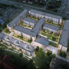 University of Houston Quadrangle Replacement Housing