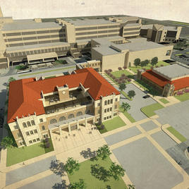 Texas Tech University Health Science Center Education, Research, and Technology Building