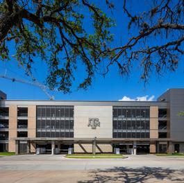 Texas A&M University Cain Hall Parking Garage