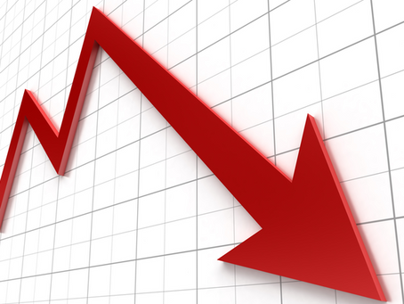 Global GDP decline in 2020
