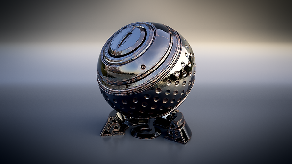 Maya V-ray shaderball procedural johnny fehr darkarts