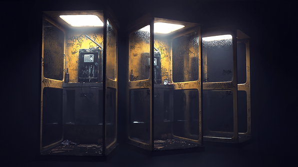 johnny fehr darkarts phone booth redshift