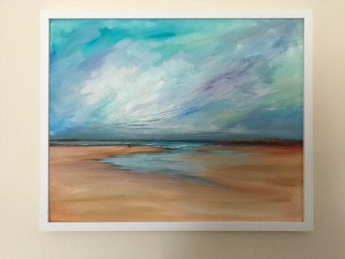 "Holkham Beach ""peaceful morning stroll"""