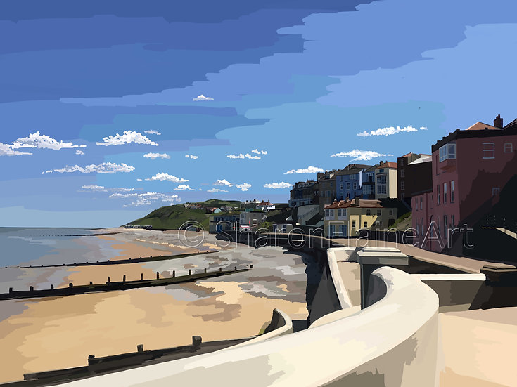 "Cromer Beach ""summertime"""