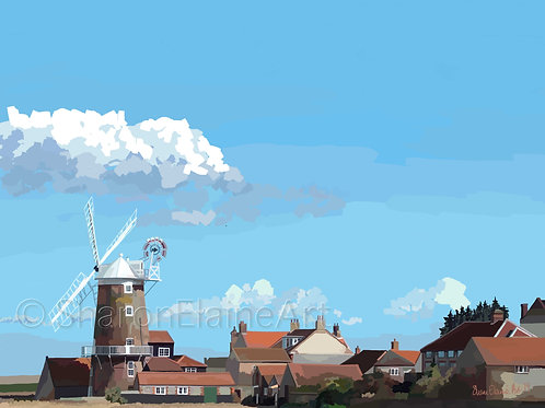 "Cley ""the Windmill has it"""