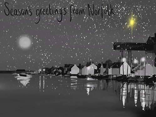 Seasons Greetings from Wells Next The Sea