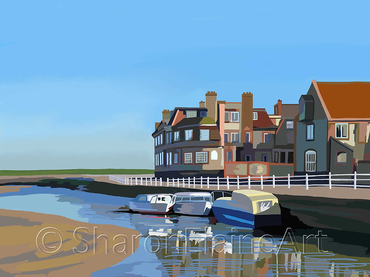"""Blakeney Harbour """"before the crowds"""""""