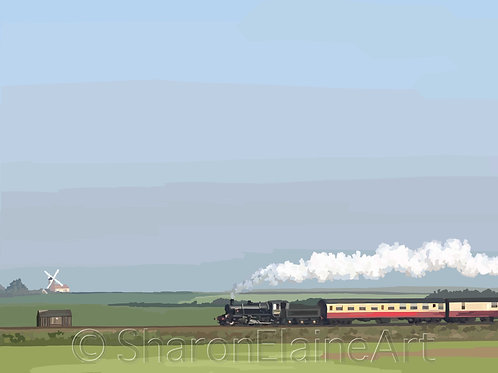 """Sheringham Train """"can you see me now"""""""