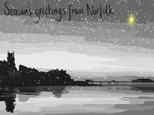 Pack 6 all designs - Seasons Greetings from Norfolk