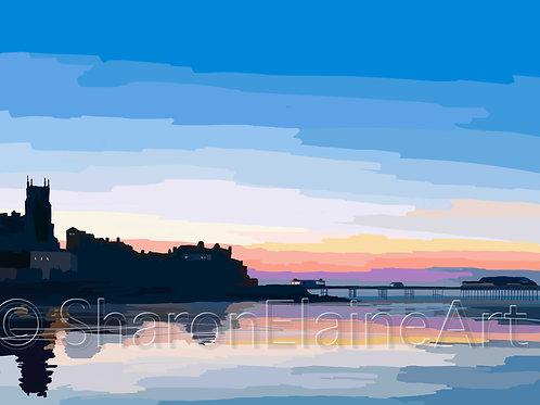 "Cromer Pier ""sunset"""