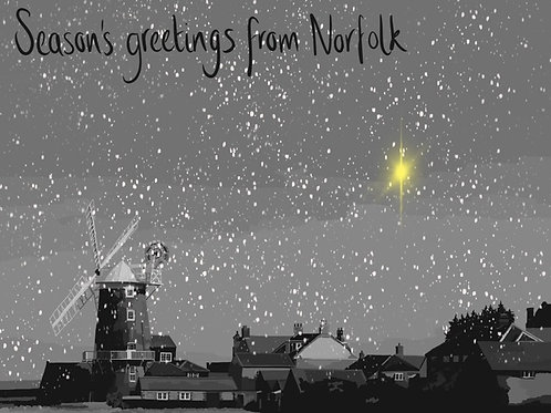 Seasons Greetings from Cley Next The Sea