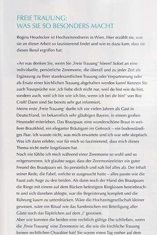 Regina Schützenhofer - Freie Rederin - Persönliche Vorstellung - Magazin Hochzeit Österreich