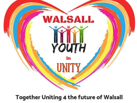 Walsall Youth in Unity Launch Event