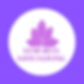 Purple and Yellow Lotus Fitness Logo (2)