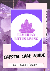 FREE EBOOK CRYSTAL CARE GUIDE cover lll.